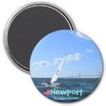 Newport Rhode Island Pell bridge to Newport magnet