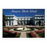 Newport Rhode Island, postal de la mansión de Rose