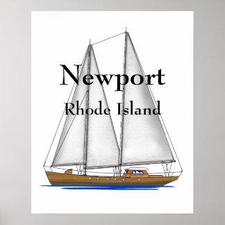 Newport Rhode Island Poster
