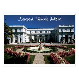 Newport Rhode Island, Rosecliff Mansion Post Card