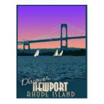 Newport Rhode Island Vintage Travel Postcard
