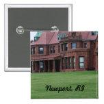 Newport, RI 2 Inch Square Button