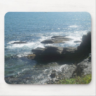 Newport RI cliff walk view Mouse Pad