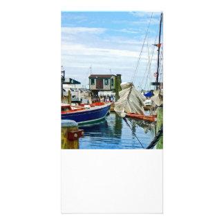 Newport RI - Folded Sails Card
