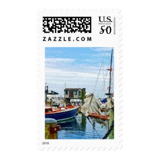 Newport RI - Folded Sails Postage
