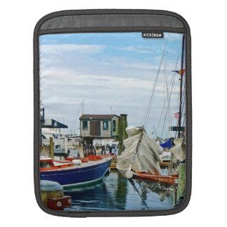 Newport RI - Folded Sails Sleeve For iPads