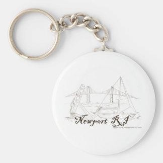 Newport RI Keychain