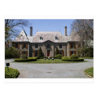 newport RI mansion Postcard