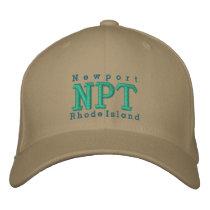 "Newport, RI ""NPT"" Embroidered Baseball Hat"