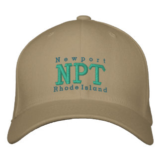 "Newport, RI ""NPT"" Embroidered Baseball Hat"