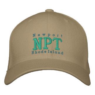 """Newport, RI """"NPT """" Gorra De Béisbol"""