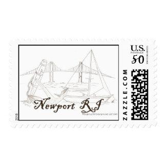 Newport RI Postage Stamp
