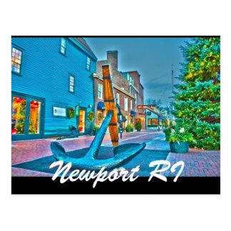 Newport RI Postcard