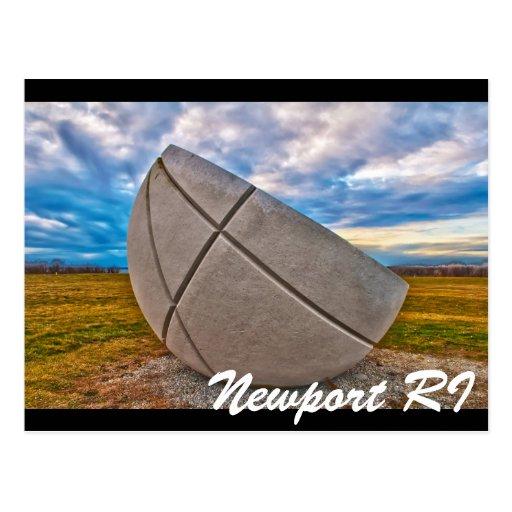 Newport RI Tarjeta Postal