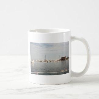 Newport sailing coffee mug