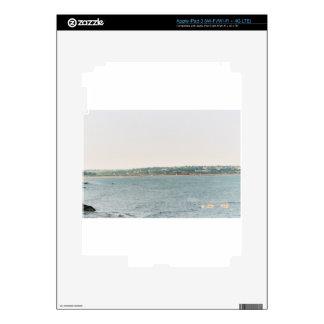 Newport shoreline iPad 3 decal