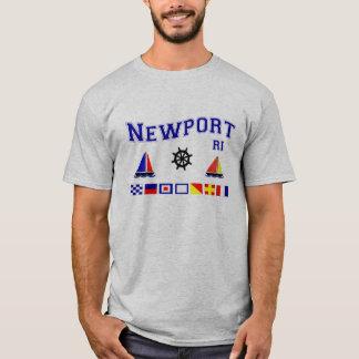 Newport Signal Flags T-Shirt