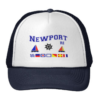 Newport Signal Flags Trucker Hat