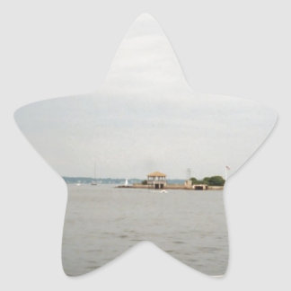 Newport Star Sticker