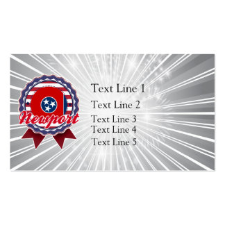 Newport, TN Double-Sided Standard Business Cards (Pack Of 100)
