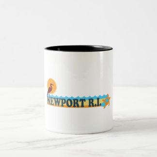 Newport. Two-Tone Coffee Mug