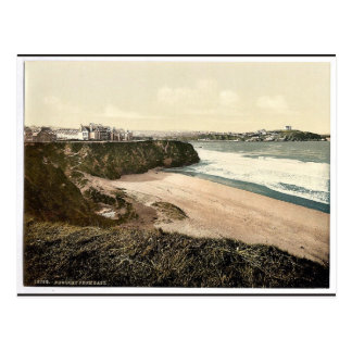 Newquay, from East, Cornwall, England classic Phot Postcard