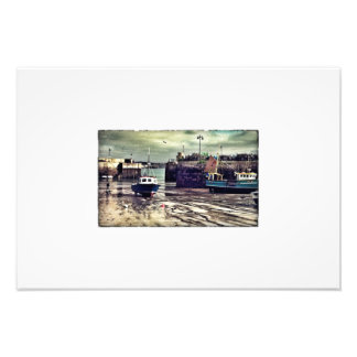 Newquay Harbour Photographic Print