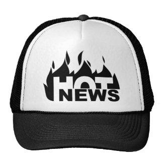 news02_07-19-2006 HOT NEWS GRAPHIC ANNOUNCEMENT SA Trucker Hat