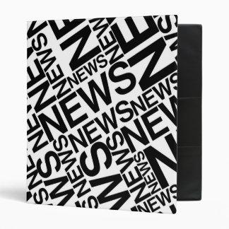 NEWS B&W BINDER