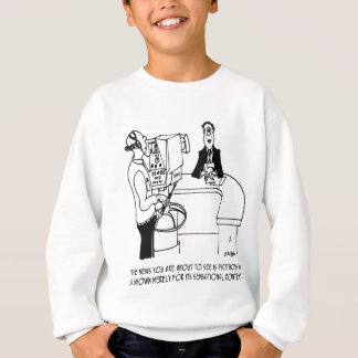 News Cartoon 4155 Sweatshirt