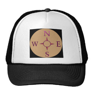 NEWS : Compass North East West South Trucker Hat