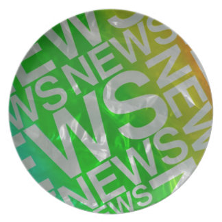 News Dinner Plate