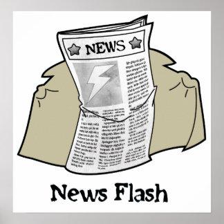 News Flash Poster