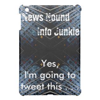 News Hound Info Junkie iPad Case 1 CricketDiane
