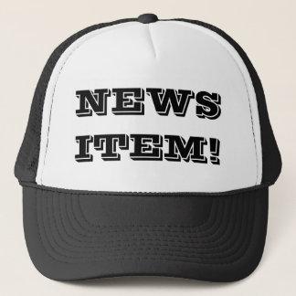 News Item© Trucker Hat