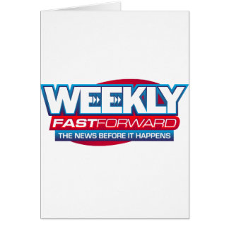 News Makeup, Weekly Fast Forward Logo Card