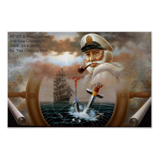 NEWS & Map Captain 2 or Sea Captain Print