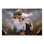 NEWS & Map Captain 7 or Sea Captain Poster