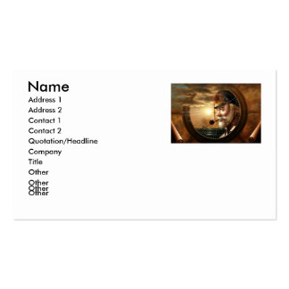 NEWS & Map Captain/compass or Sea Captain Business Card Templates