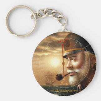 NEWS & Map Captain/compass (Sea Captain) Keychain