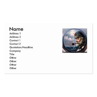 NEWS & Map Captain/Decor or Sea Captain Business Card Templates