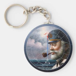 NEWS & Map Captain/Decor or Sea Captain Keychain
