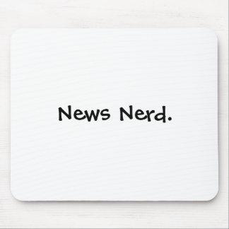 News Nerd. Mouse Pad