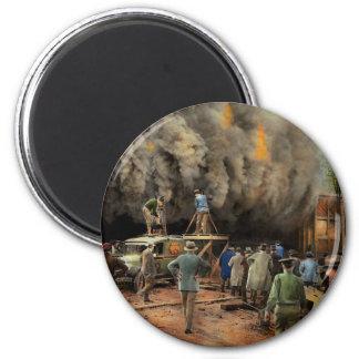 News Reporter - Metrotone News 1928 2 Inch Round Magnet