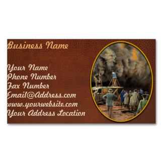 News Reporter - Metrotone News 1928 Business Card Magnet