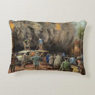 News Reporter - Metrotone News 1928 Decorative Pillow