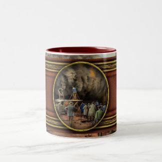 News Reporter - Metrotone News 1928 Two-Tone Coffee Mug