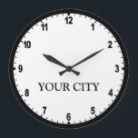 """News Room Clock<br><div class=""""desc"""">Personalize this clock with your home town</div>"""