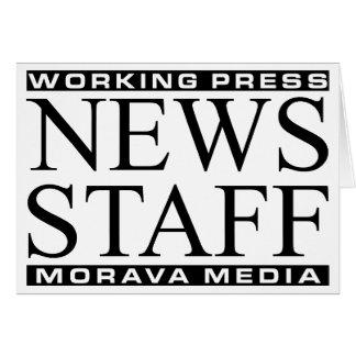 News Staff Card