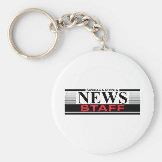 News Staff Keychain
